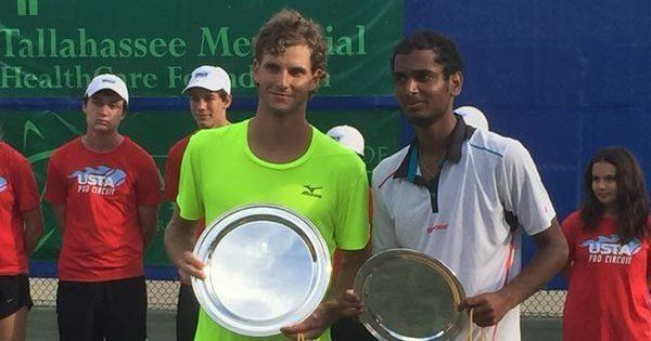 Gutsy Ramkumar Ramanathan bows out fighting to Blaz Rola in Tally Challenger
