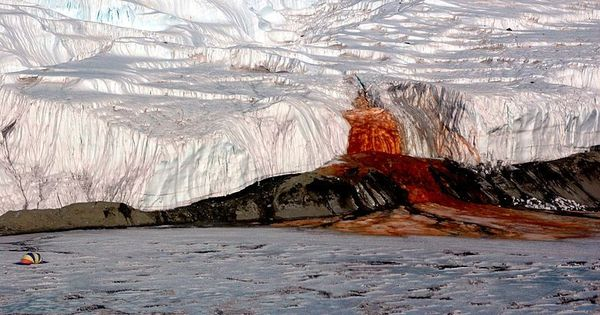 Scientists have solved the century-old mystery behind Antarctica's 'Blood Falls'