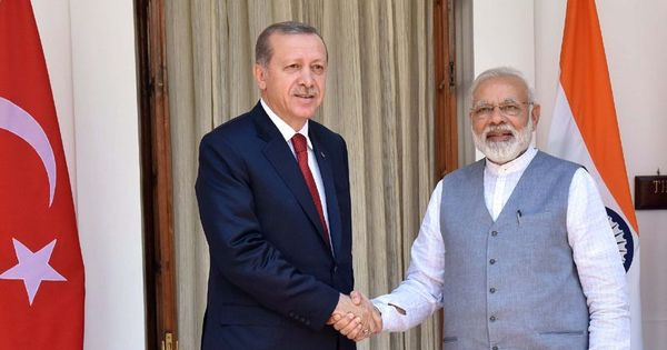 Turkish president Recep Tayyip Erdogan has many cheerleaders among Muslims in the subcontinent