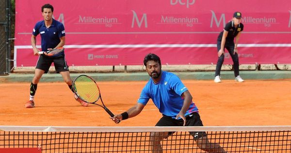 Leander Paes and Andre Sa enter Estoril Open quarters after beating Benoit Paire and Renzo Olivo