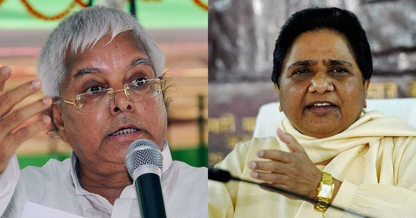 Lalu Prasad, the hidden hand behind Mayawati's decision to consider joining an anti-BJP front