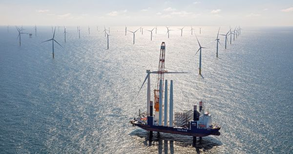 The Netherlands' massive new offshore wind farm promises green energy to 1.5 million people