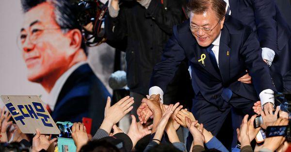 South Korea: Moon Jae-in wins presidential election