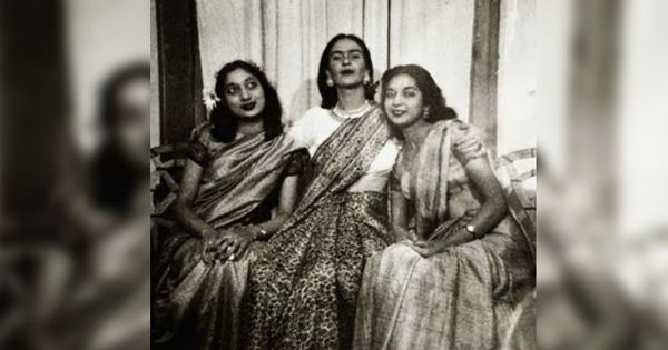 Flashback: How Mexican artist Frida Kahlo came to be photographed in a sari