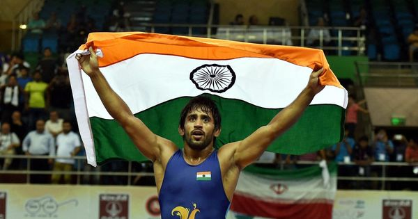Wrestler Bajrang Punia climbs to world number one rank in 65kg category
