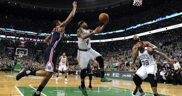 NBA Playoffs: Boston Celtics beat Washington Wizards to win Eastern Conference semi-final series 4-3