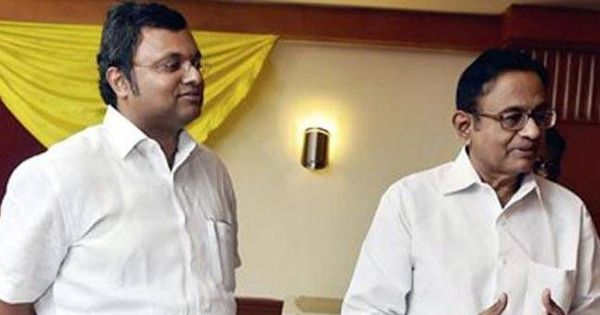 Supreme Court reinstates lookout notice against Karti Chidambaram