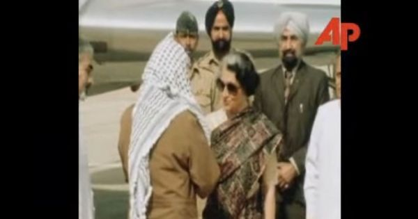 Palestinian president Mahmoud Abbas is in India. Remember Yasser Arafat's momentous visit in 1980?