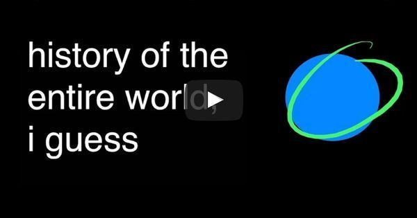 The (almost) entire history of the world in under 20 hilarious minutes? This video is your answer