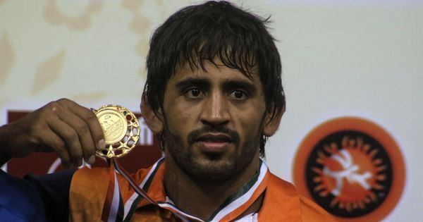 India's Bajrang Punia wins gold at the Asian Indoor and Martial Arts Games