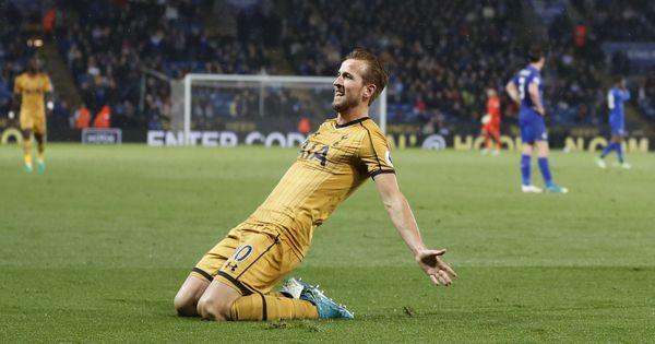 Harry Kane scores four as Tottenham demolish Leicester 6-1