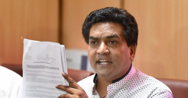 AAP leaders' Russia trip funded by businessman linked to Rs 400-crore scam, says Kapil Mishra