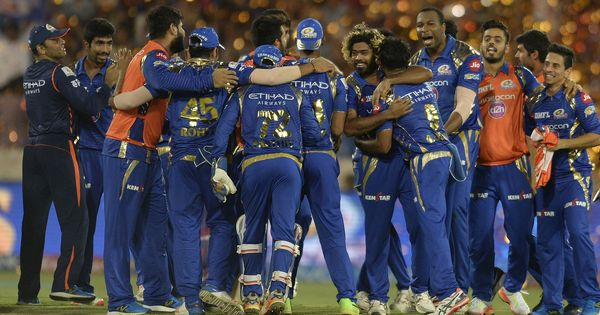 Mumbai Indians defend 129 against Pune in thrilling last-ball finish to lift third IPL title