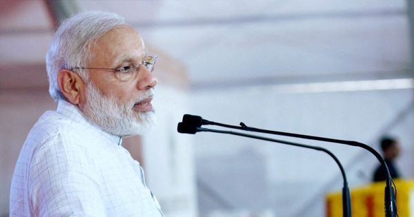 Gujarat: Funds meant for benefit of poor were slashed to bring Narmada to Kutch, says Narendra Modi