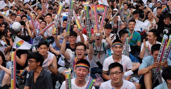 Taiwan to become first Asian country to legalise same-sex marriage after top court's landmark ruling