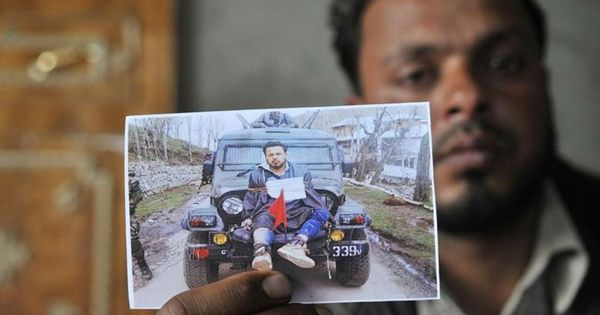 Jammu and Kashmir government says it cannot pay compensation to man used as a 'human shield'
