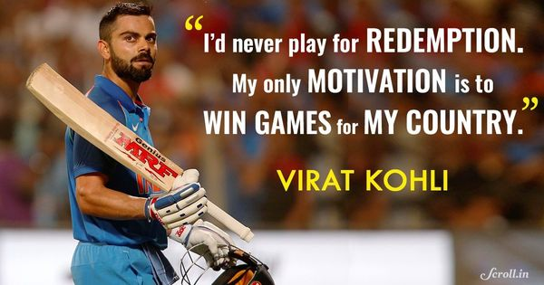 Kohli might not be singing the redemption song but India will want hits from him anyway
