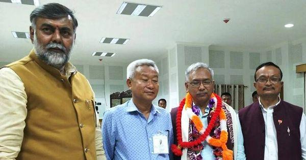 BJP wins the lone Rajya Sabha seat from Manipur