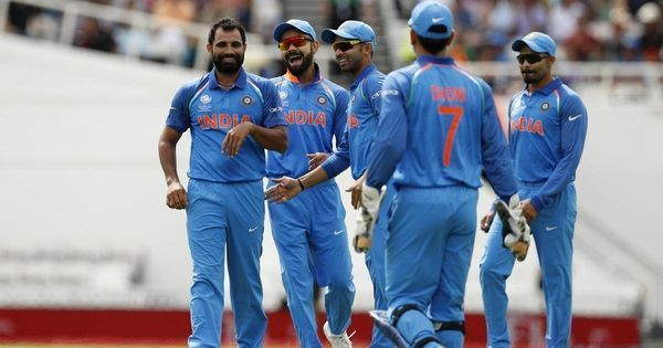 India cruise to 45-run win by D/L method against New Zealand in Champions Trophy warm-up match