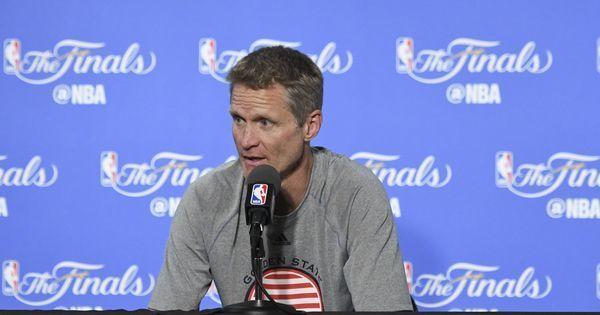 Golden State Warriors coach Steve Kerr to miss NBA Finals opener