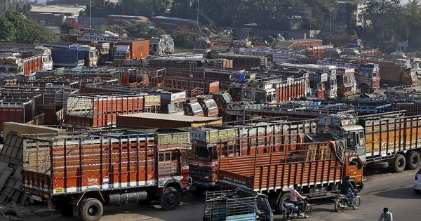 Delhi: Truck driver fined Rs 2.05 lakh for overloading his vehicle, other offences