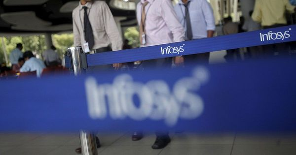 Infosys net profit rises 2.4% to Rs 3,690 crore in fourth quarter