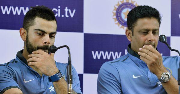 अनिल कुंबले ने भारतीय क्रिकेट टीम के कोच पद से इस्तीफा दिया