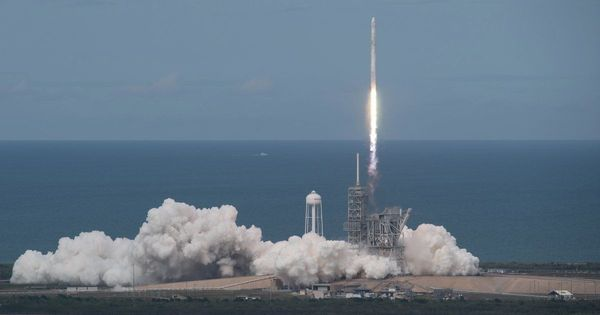 SpaceX successfully launches recycled capsule to carry supplies to International Space Station