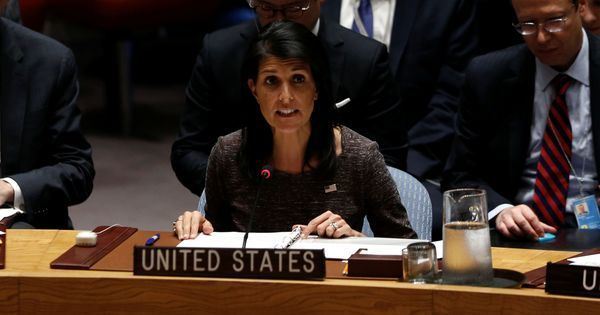 North Korea's missile test has made the world a more dangerous place: US at the UN Security Council