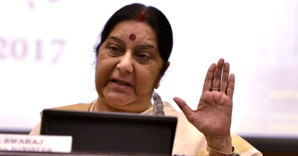 Passports will now be issued in both Hindi and English, says Sushma Swaraj