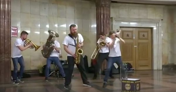 Watch: Moscow's 'Music in Metro' project brings music to commuters, and vice-versa