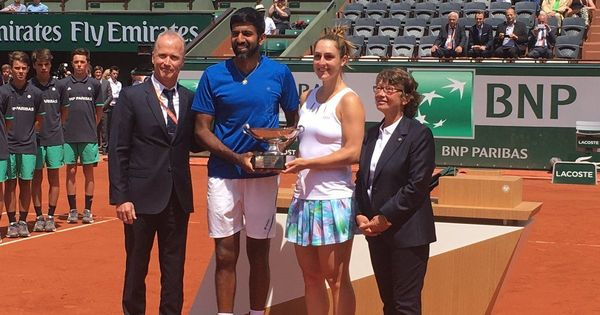 Rohan Bopanna-Gabriela Dabrowski win mixed doubles title at French Open