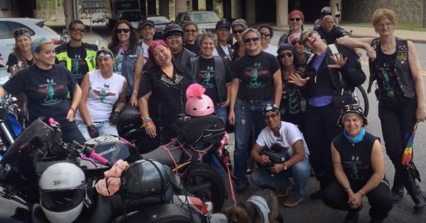 Watch: An all-women biker group delivers donated breast milk to babies in need