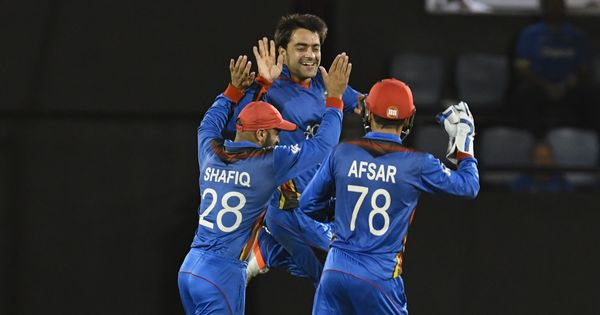 ICC World Cup Qualifiers: Rashid Khan spins Afghanistan to victory over UAE