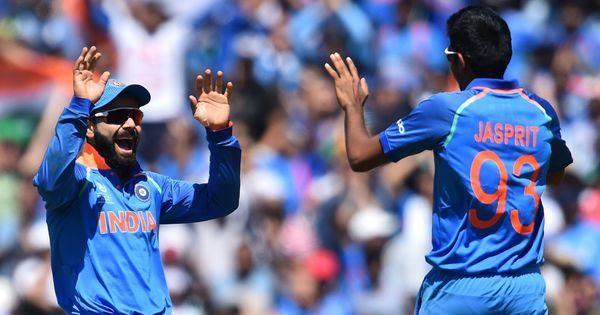 Virat Kohli and Jasprit Bumrah continue to top ICC ODI rankings, India remain second behind England