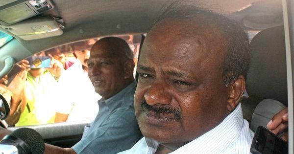 कर्नाटक : भाजपा के वॉकआउट के बाद कुमारस्वामी ने विश्वासमत जीता