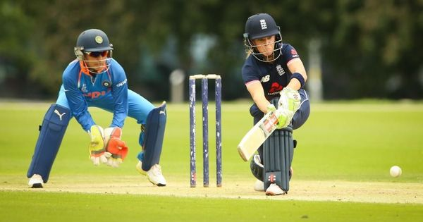 India go down to England in first practice match ahead of the Women's World Cup