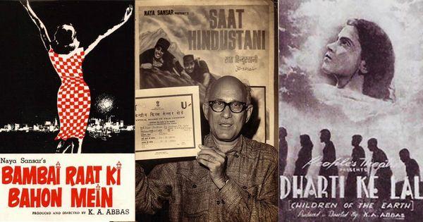 KA Abbas, 'biggest bulk buyer of tickets' of his own films and eternal dreamer
