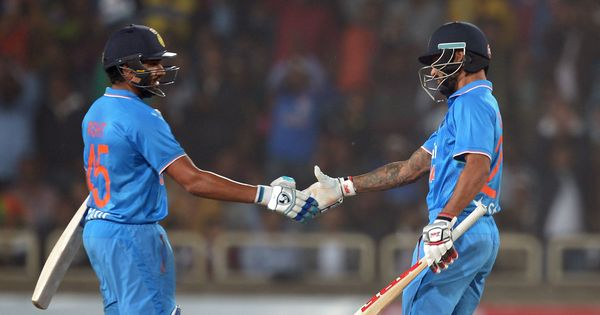 Rohit, Shikhar 'dent the opposition mentally': Kohli says India openers' form gives him confidence
