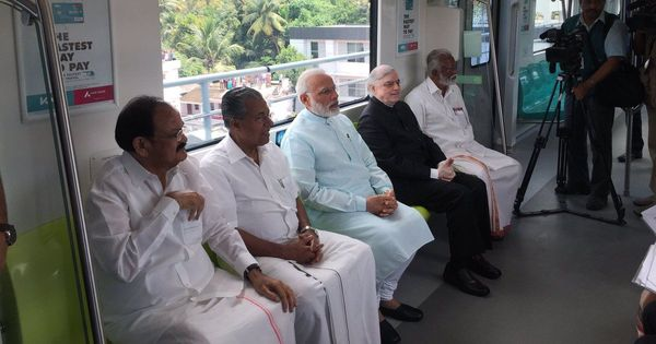 Watch this cheeky parody by a Kerala news channel trolling PM Modi's inauguration of Kochi metro