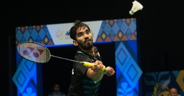 K Srikanth plans to play fewer tournaments in 2018 to be in best shape for Asian Games, CWG