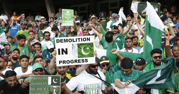 'Victory is sweet': Pakistani media rejoices after cricket team 'trounces India in dream final'