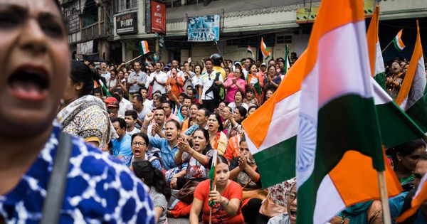Gorkhaland demand: From street protests to silent rallies, photos capture the mood in Darjeeling