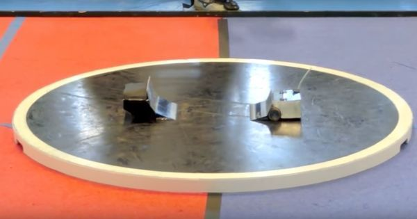 Watch: Japanese Sumo wrestling robots are the exact opposite of what you would imagine