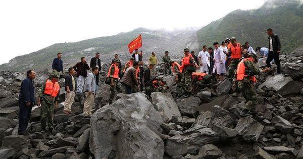 चीन में भारी बारिश और भूस्खलन के बाद 141 से ज़्यादा लोग लापता, अधिकांश के मारे जाने की आशंका
