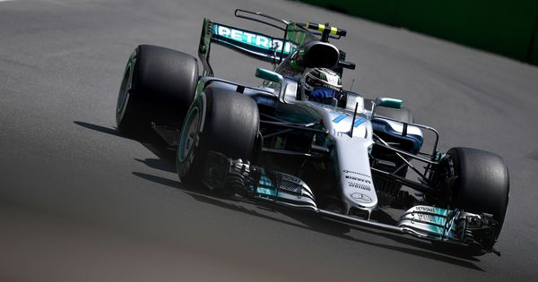Azerbaijan GP: Mercedes' Valtteri Bottas finishes on top after incident-filled final practice