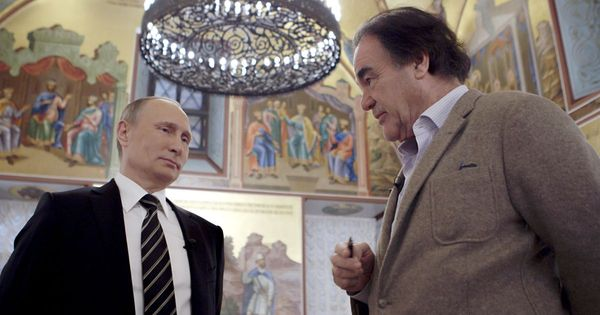 What happens when Oliver Stone interviews Vladimir Putin? Empty banter and immense silence