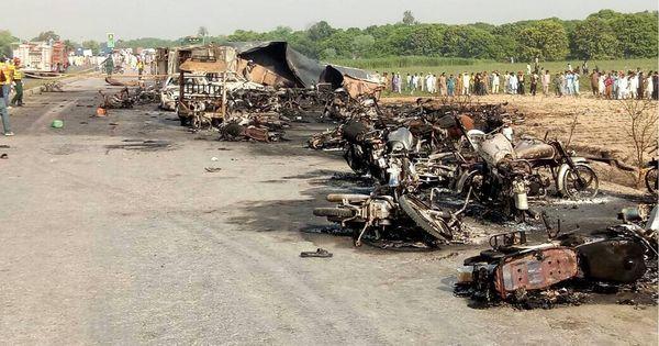 Pakistan: Toll in oil tanker explosion in Bahawalpur rises to 148