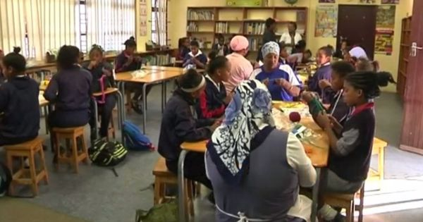 Watch: How knitting keeps boys away from gang warfare in South Africa