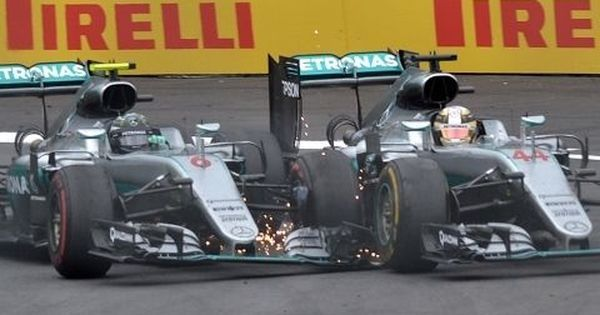 The Vettel-Hamilton crash spiced up the 2017 season but road rage in F1 has a long history